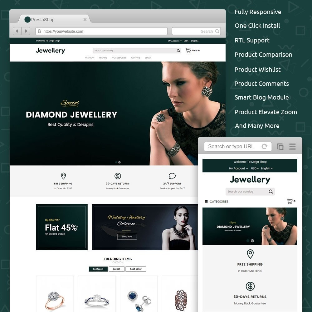 theme - Sieraden & Accessoires - Jewellery Store - 1