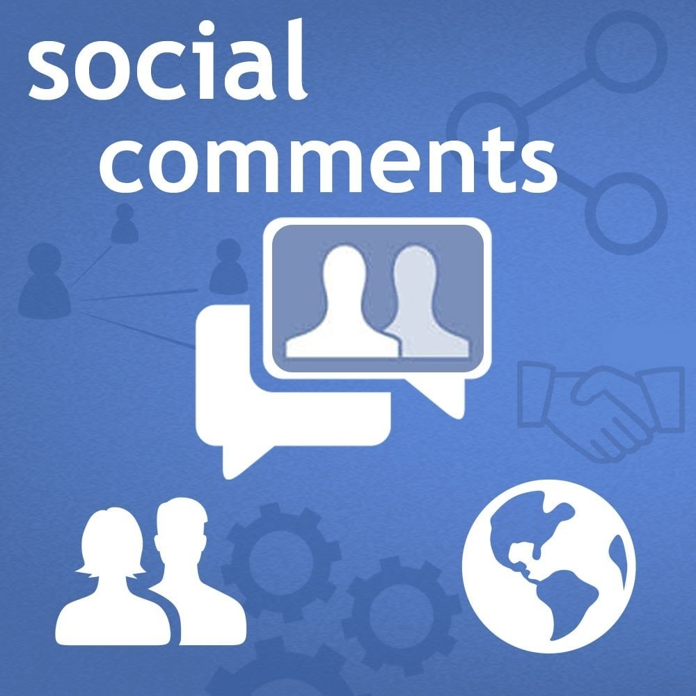 module - Compartir contenidos y Comentarios - Social Comments on Product page. - 1