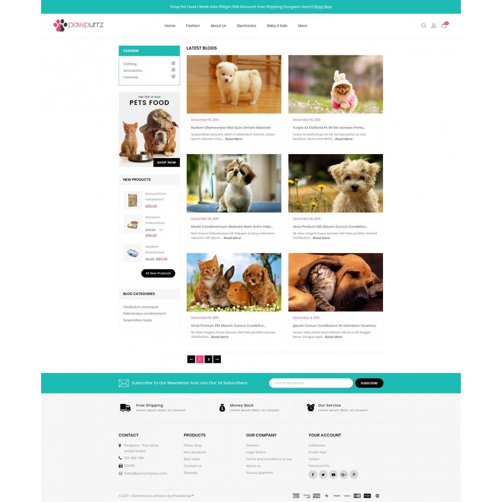 theme - Animals & Pets - PawPurrz - Pets Store - 9