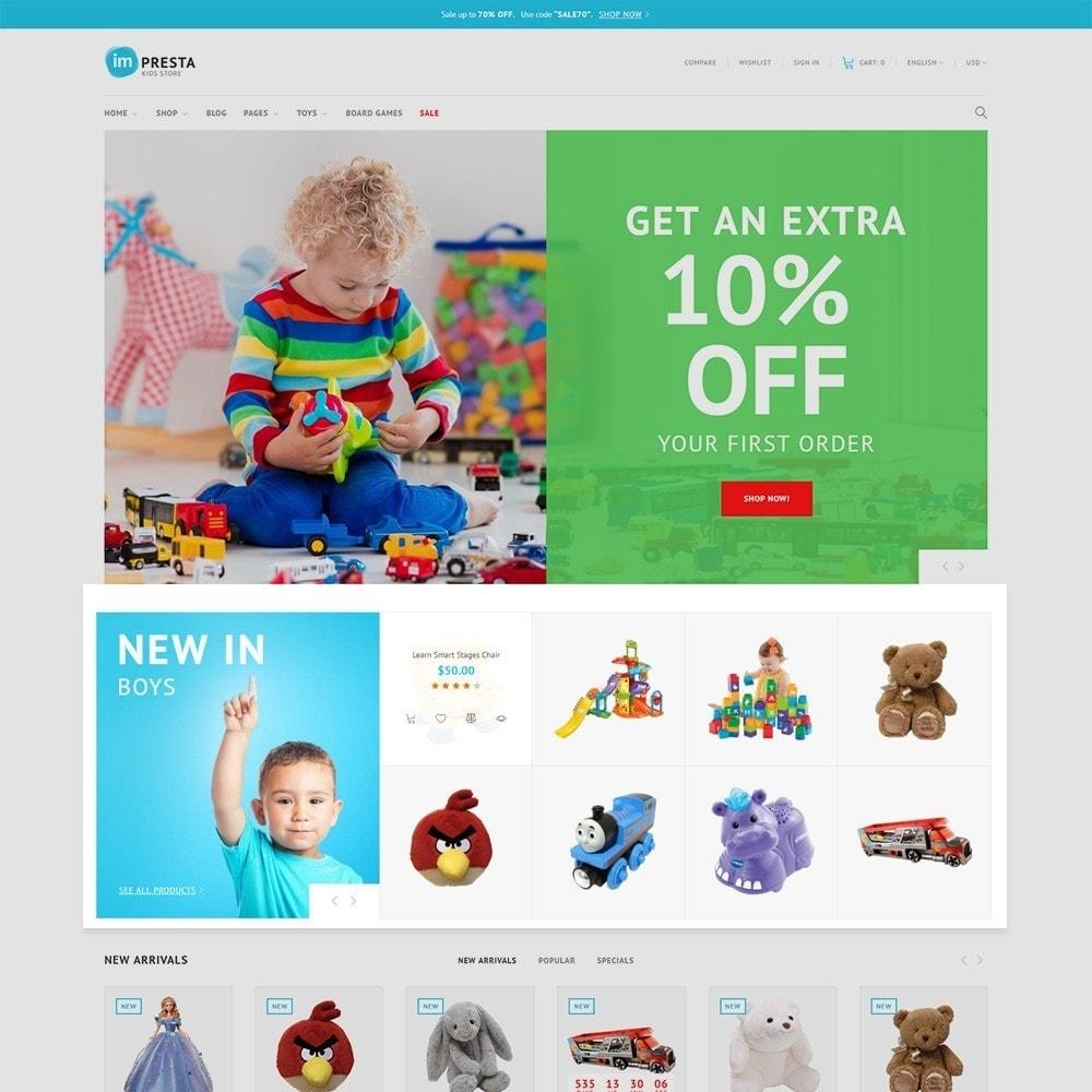 theme - Zabawki & Artykuły dziecięce - Impresta - Kids Store - 3