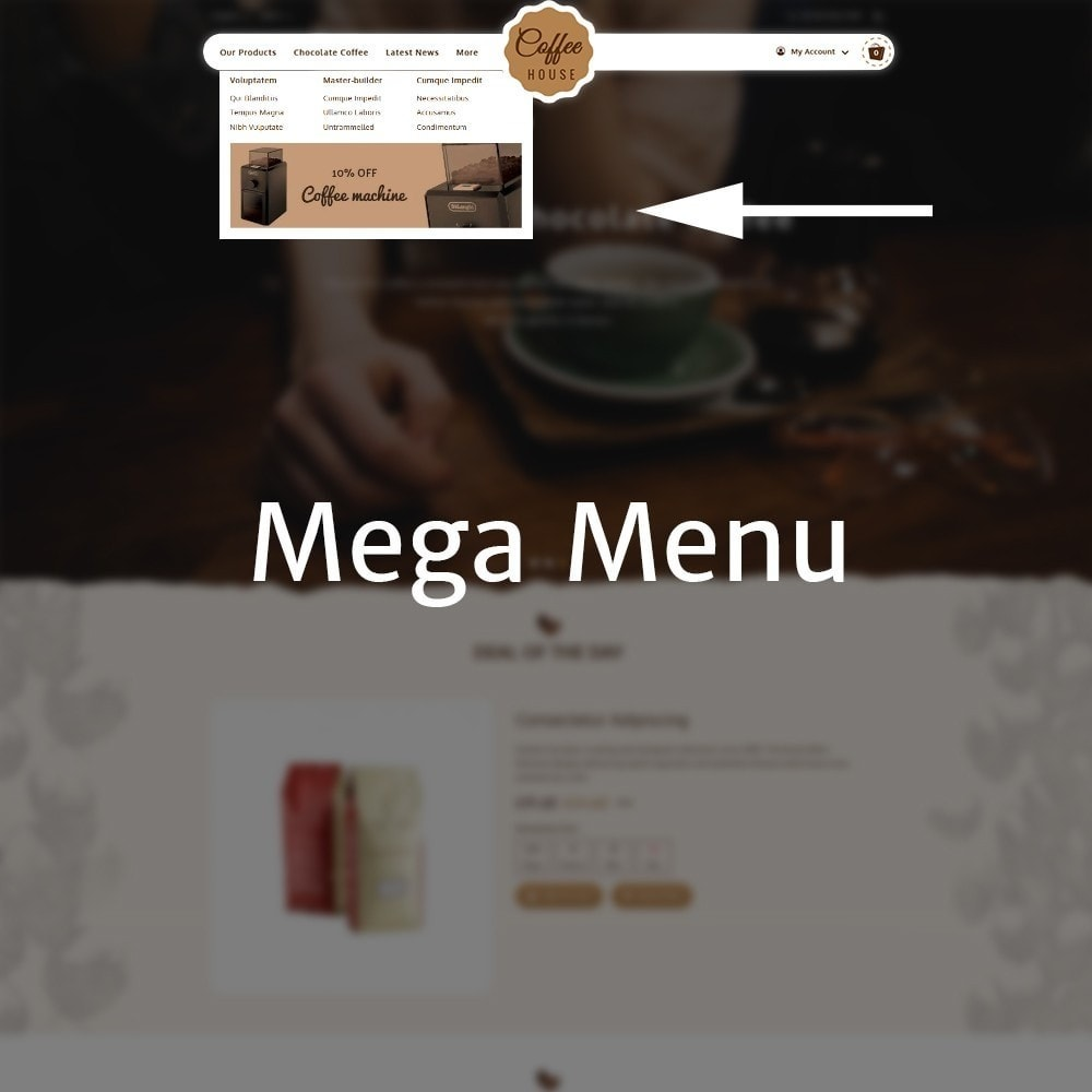 theme - Eten & Restaurant - Coffeehouse Beverage Store - 8