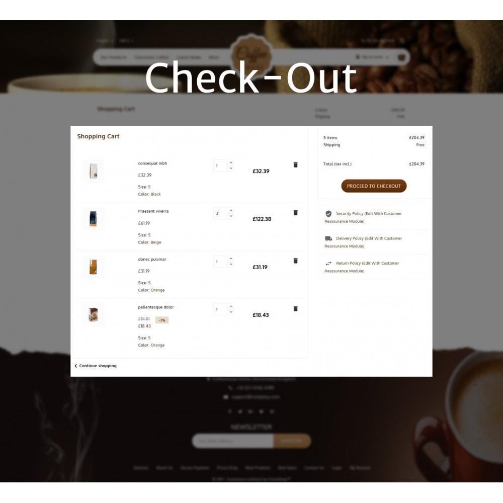 theme - Alimentos & Restaurantes - Coffeehouse Beverage Store - 12