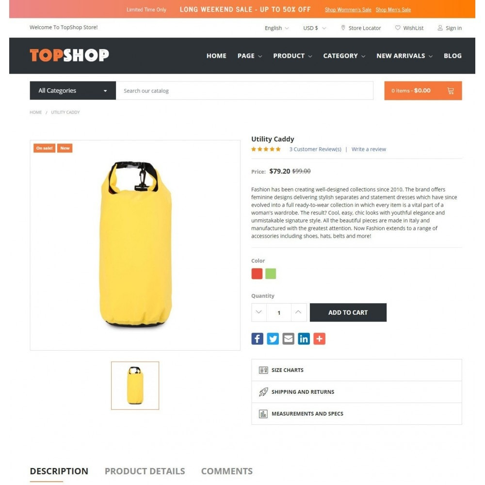 theme - Electrónica e High Tech - TOPSHOP -  Supermarket - 4