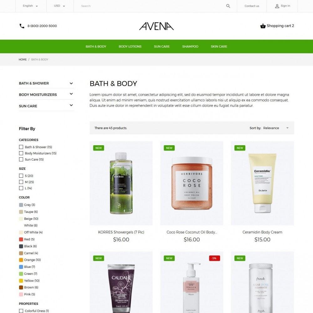 theme - Saúde & Beleza - Avena Cosmetics - 5