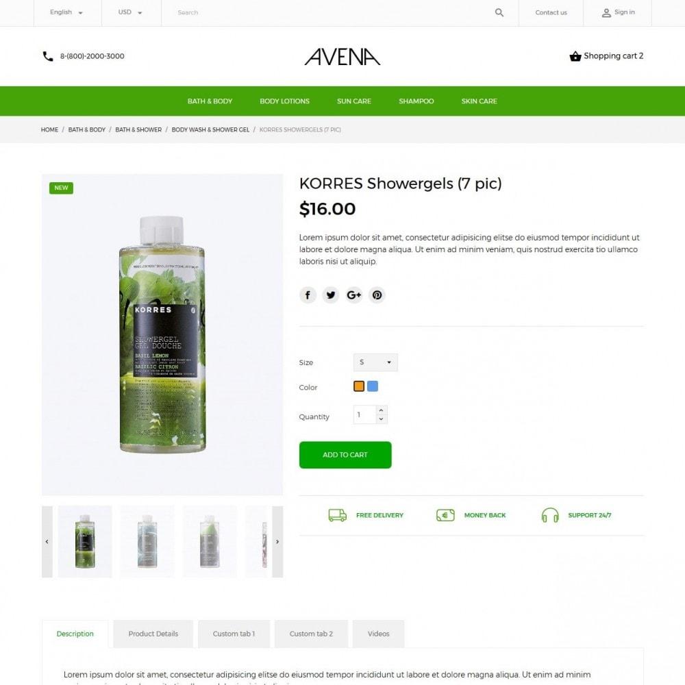 theme - Saúde & Beleza - Avena Cosmetics - 6