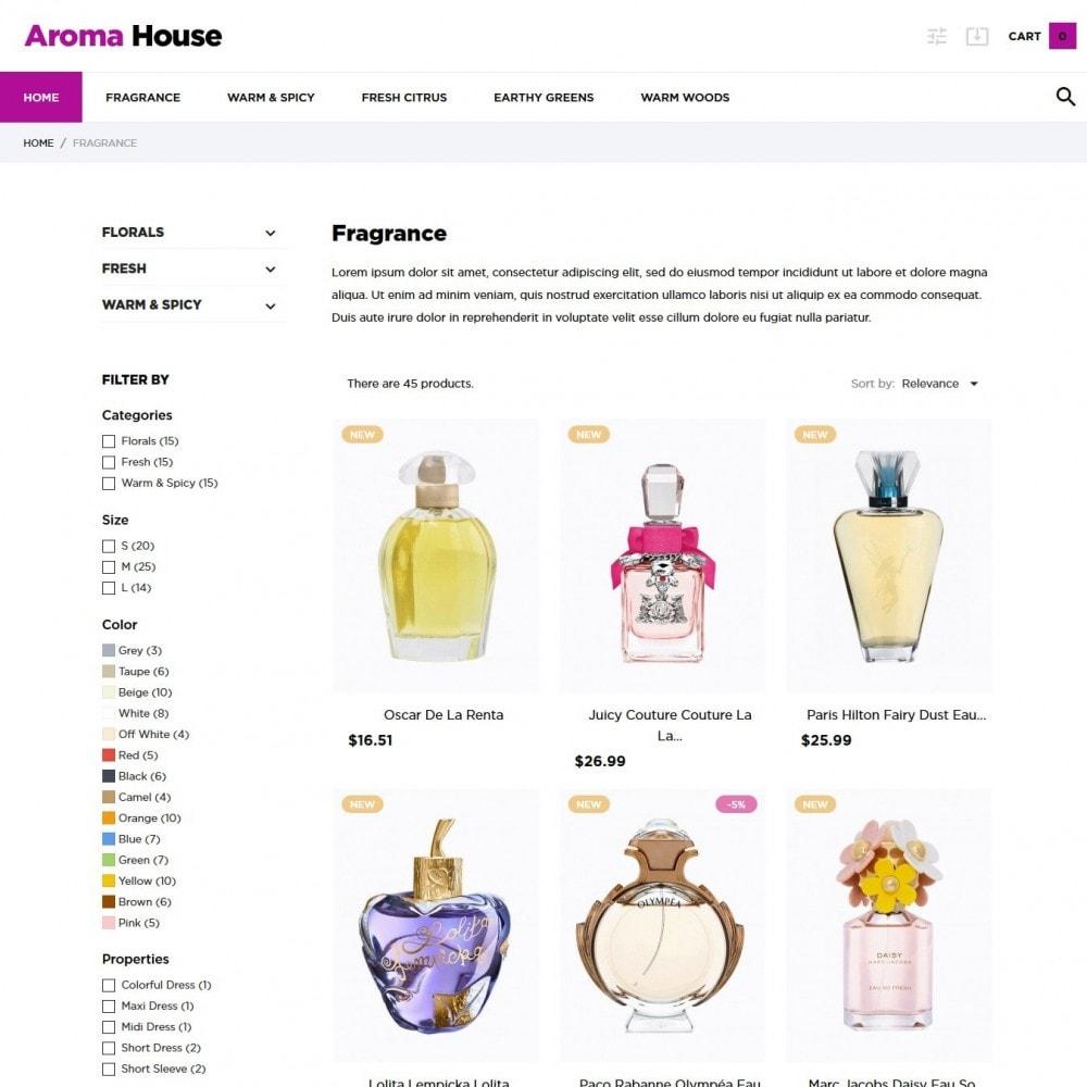 theme - Health & Beauty - Aroma House - 5