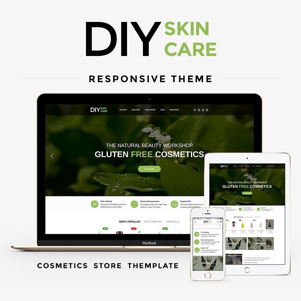theme - Gezondheid & Schoonheid - DIY skin care Cosmetics - 1