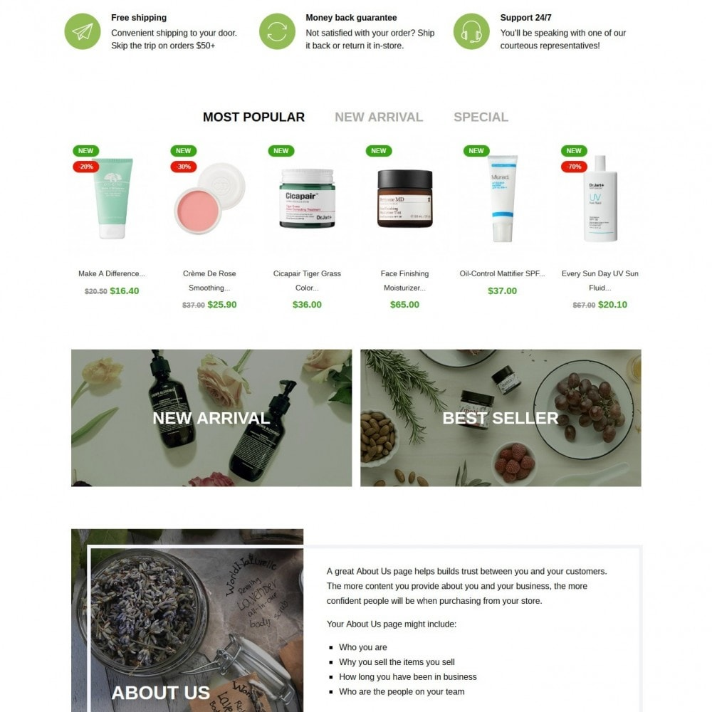 theme - Health & Beauty - DIY skin care Cosmetics - 3