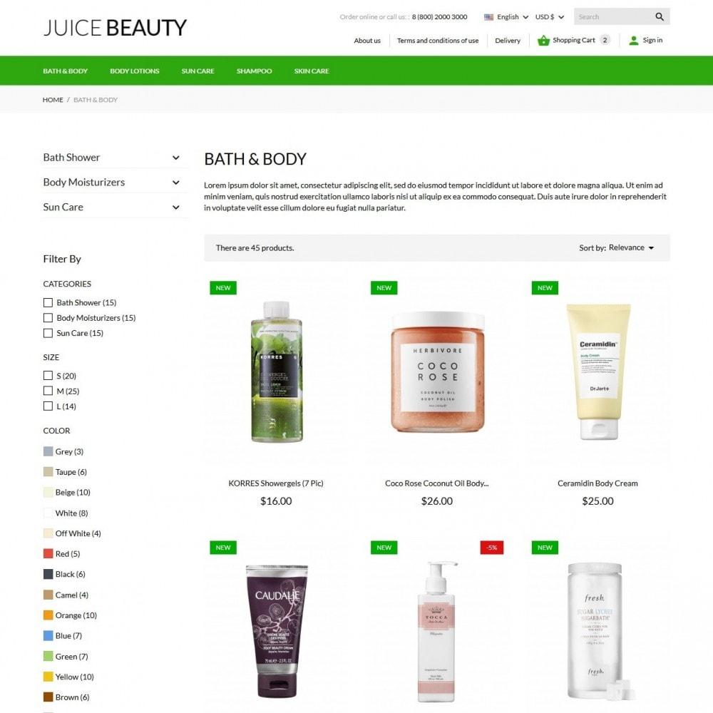 theme - Zdrowie & Uroda - Juice Beauty Cosmetics - 6