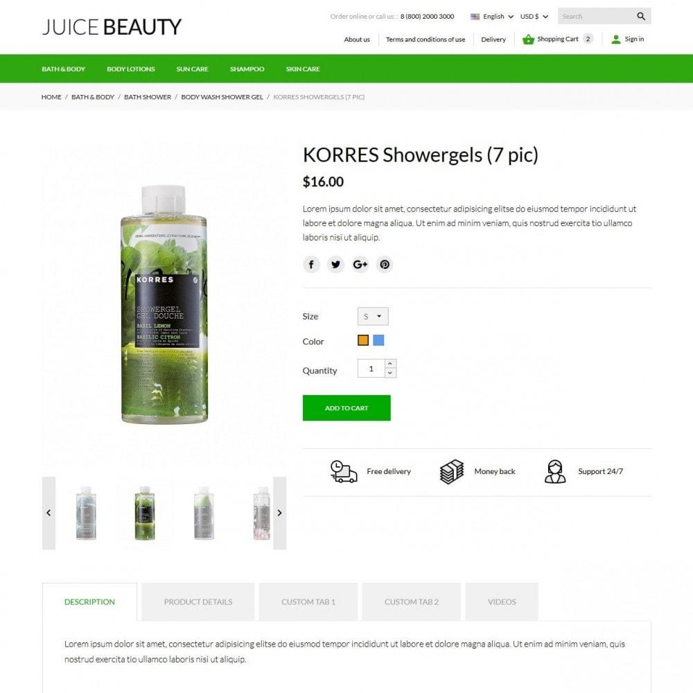 theme - Zdrowie & Uroda - Juice Beauty Cosmetics - 7