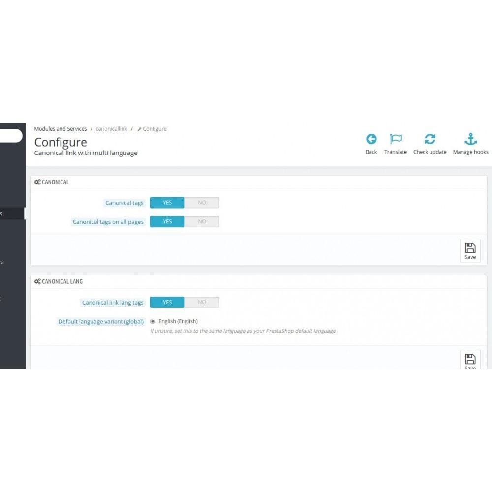 module - SEO (Pozycjonowanie naturalne) - Hreflang & Canonical Tags on All Pages ( SEO Google ) - 3