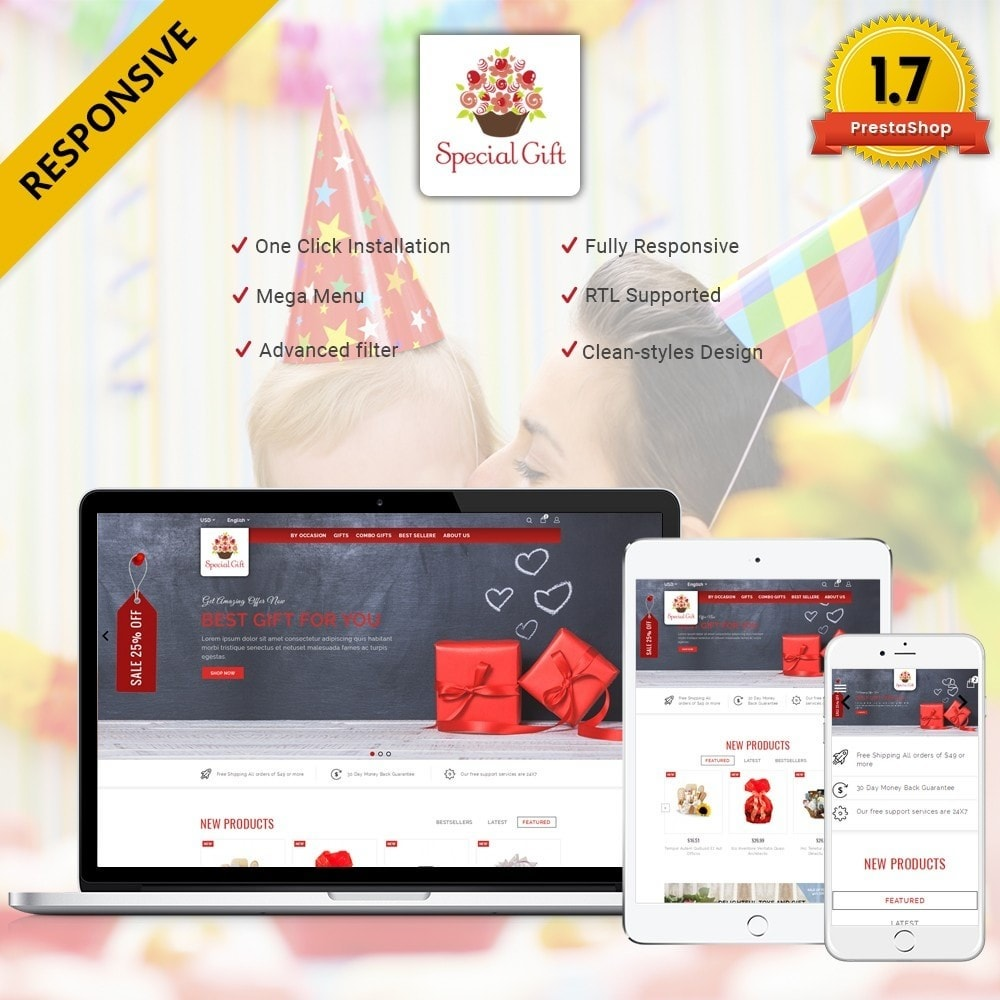 theme - Gifts, Flowers & Celebrations - Special Gift Store - 1