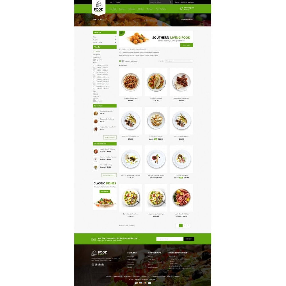 theme - Lebensmittel & Restaurants - Food Mart Store - 3