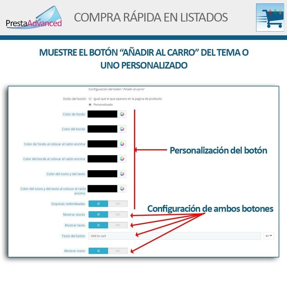 module - Proceso rápido de compra - Compra rápida desde listados - 5