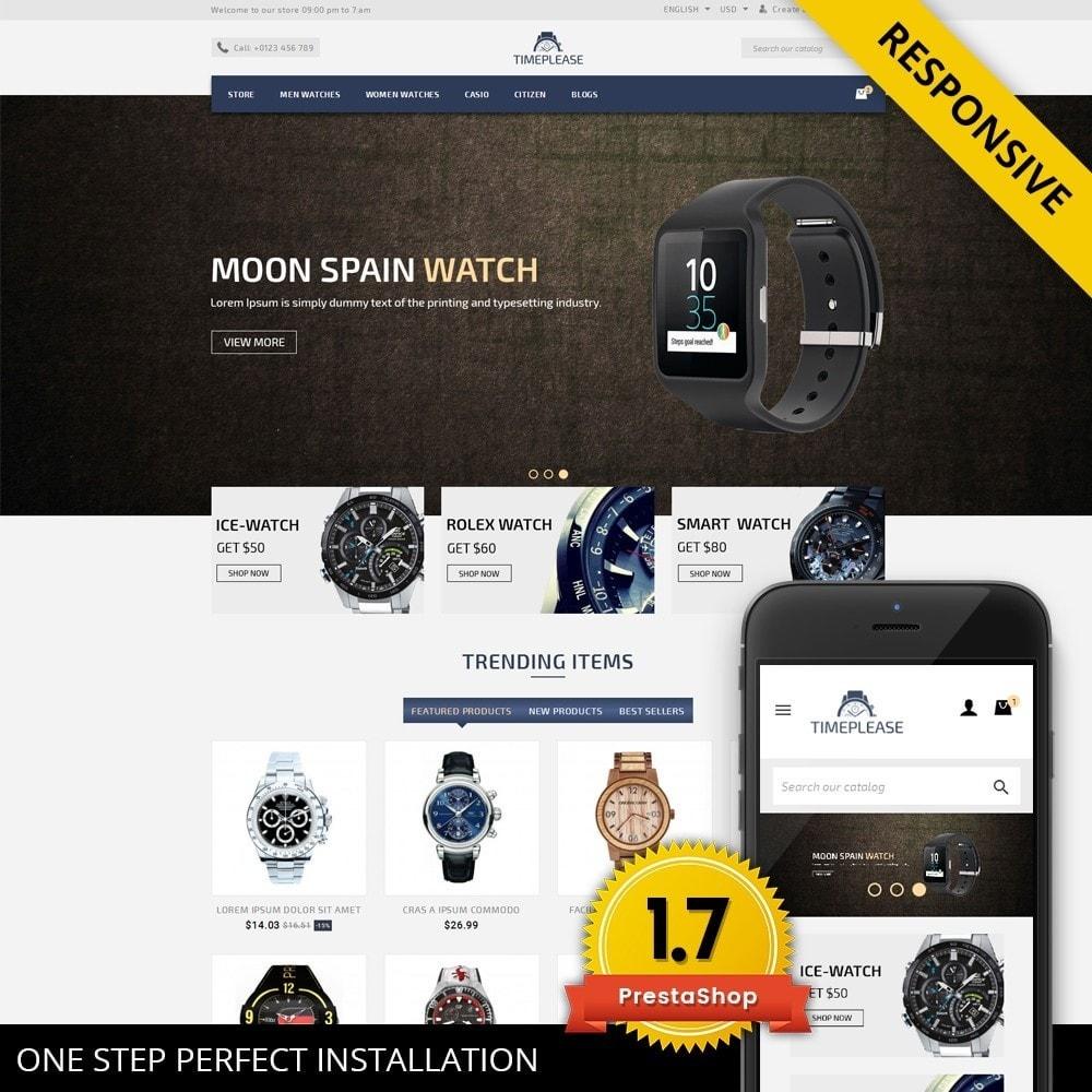 theme - Biżuteria & Akcesoria - Timeplease - Watchstore Template - 1