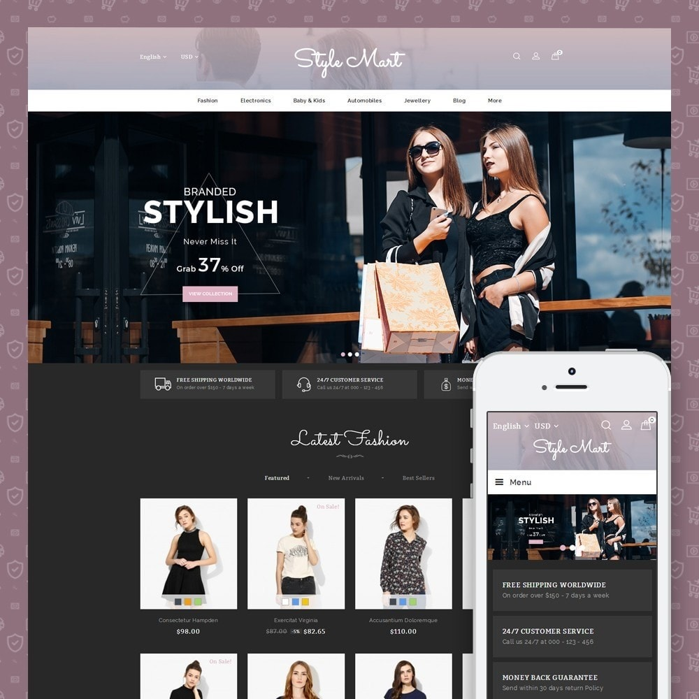 theme - Mode & Schoenen - Style Mart - Fashion Store - 1
