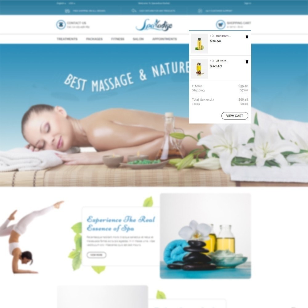 theme - Health & Beauty - Spaladies Store - 6
