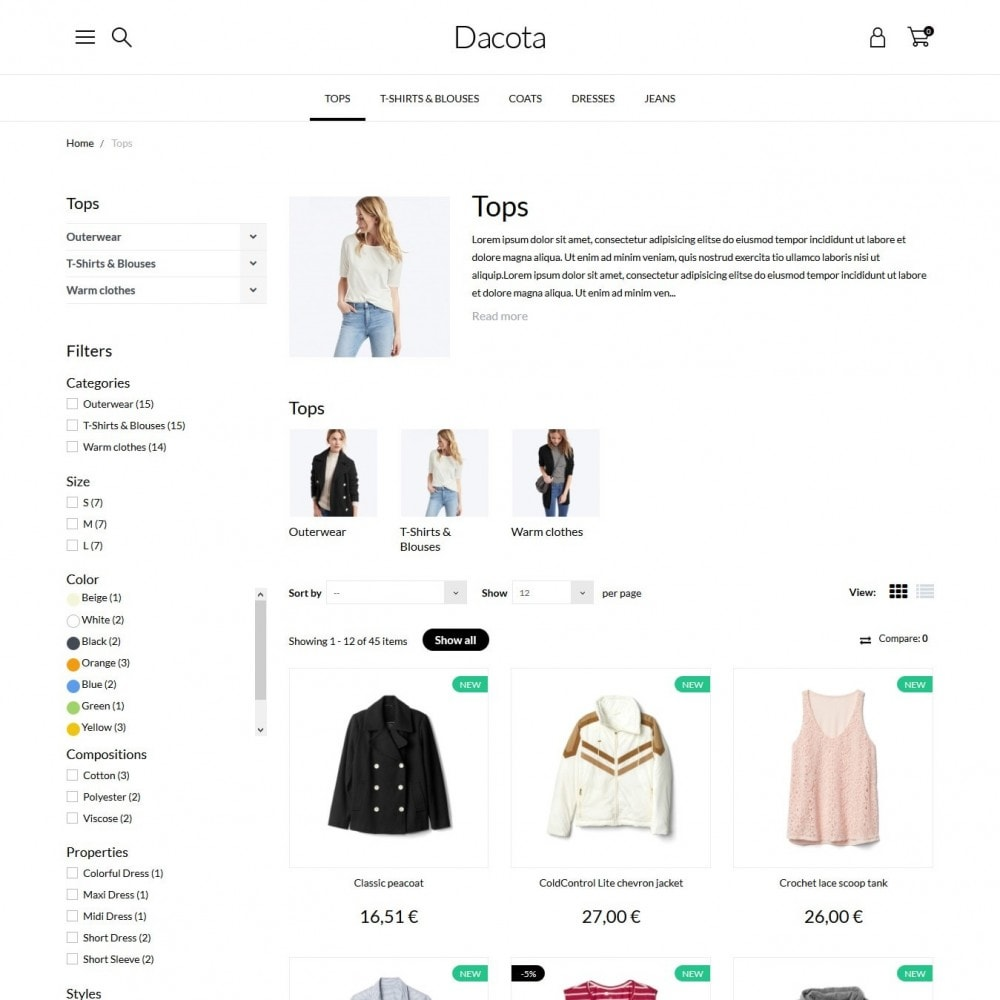 theme - Mode & Schoenen - Dacota Fashion Store - 5