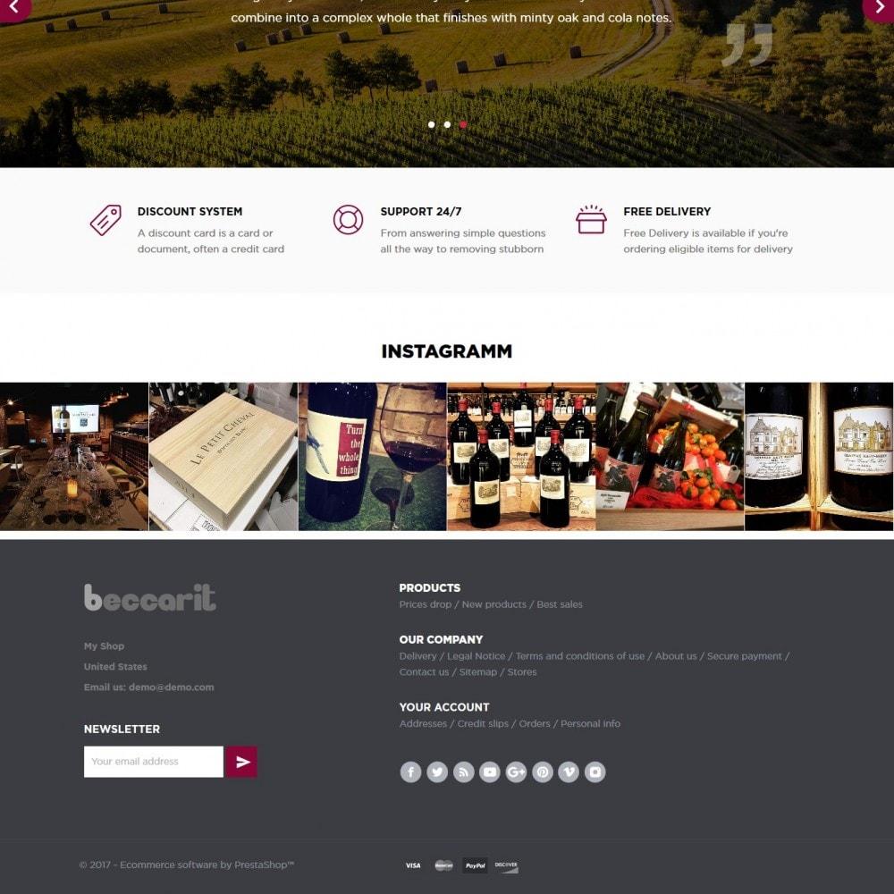 theme - Getränke & Tabak - Beccarit Shop - 4