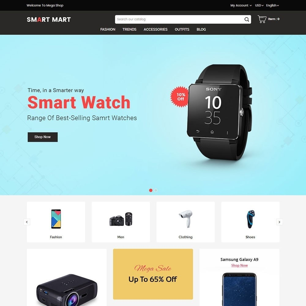 theme - Elektronik & High Tech - Smart Mart Digital Store - 2