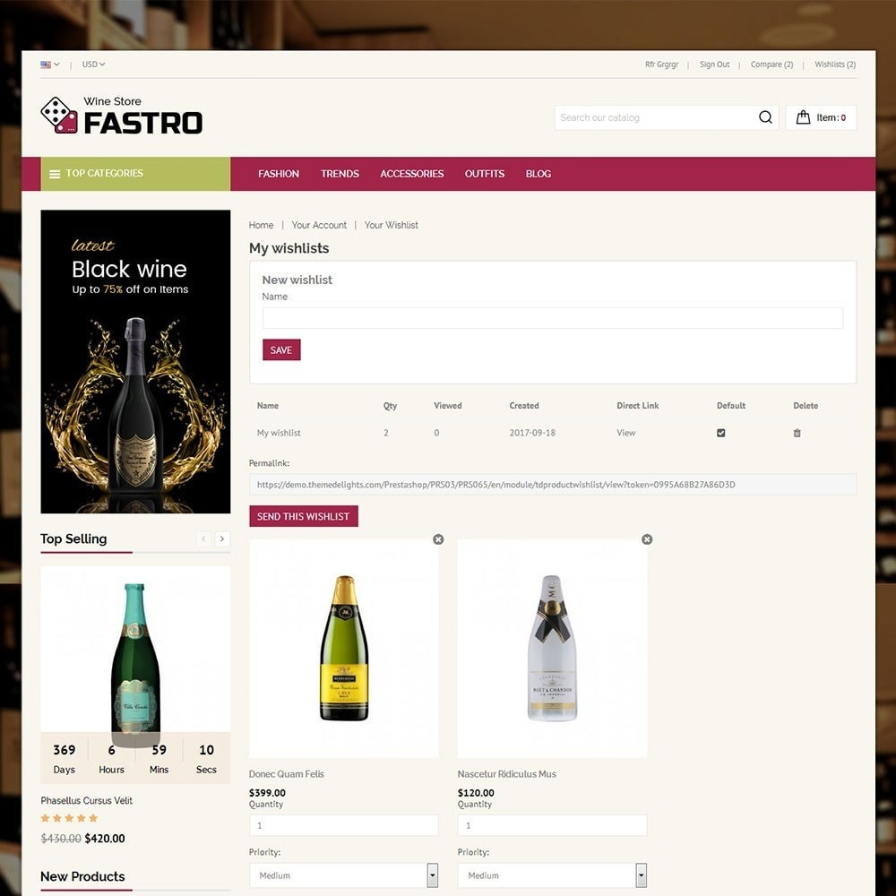 theme - Drink & Tobacco - Fastro Wine Store - 8