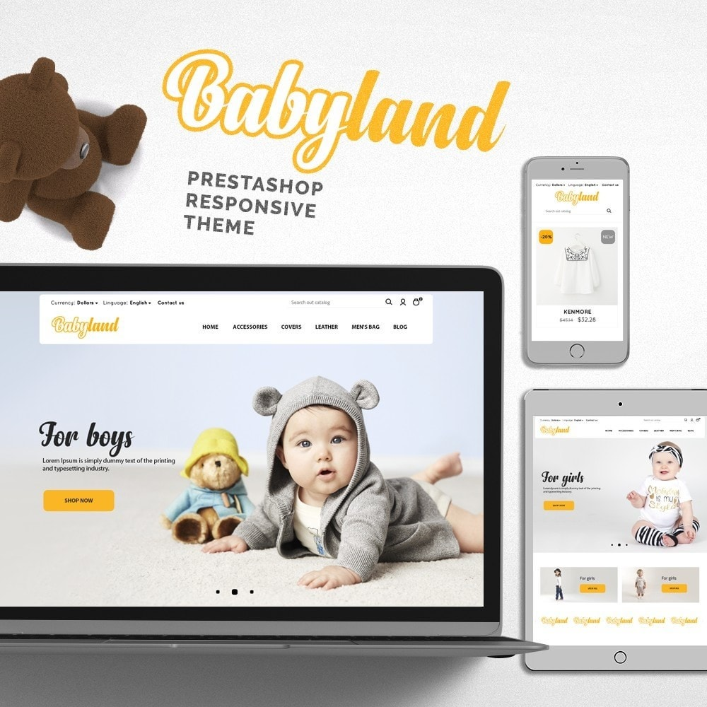 theme - Crianças & Brinquedos - Babyland - 1