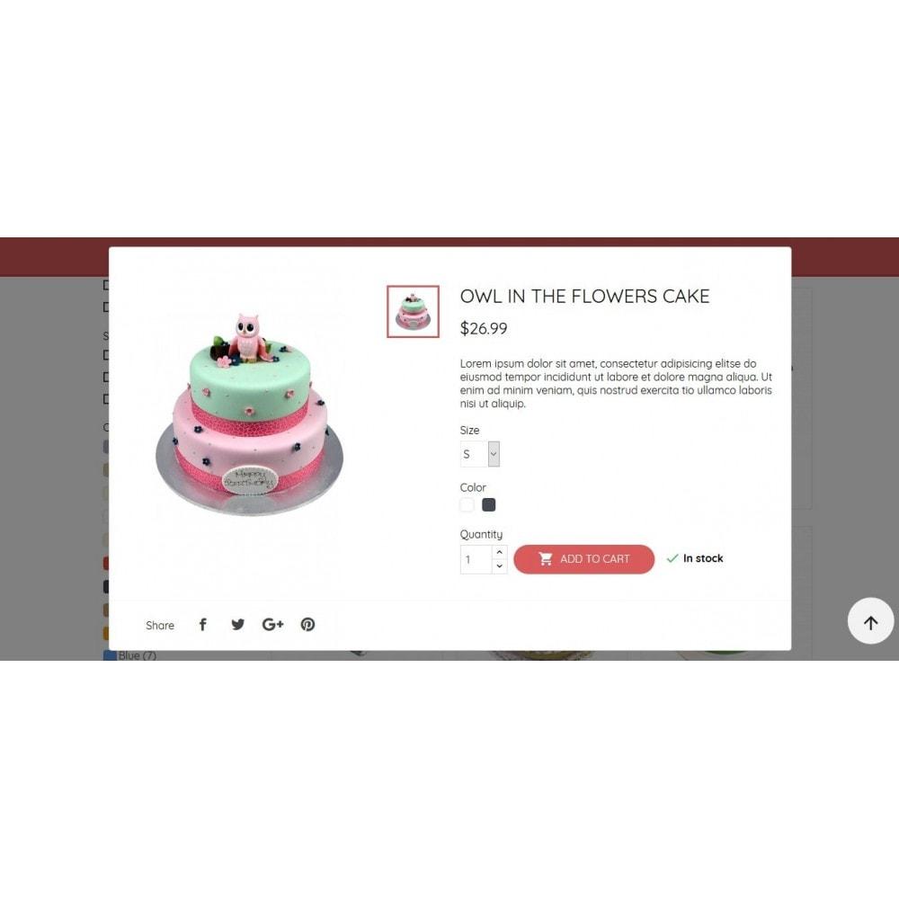theme - Żywność & Restauracje - BeautyCake - 10