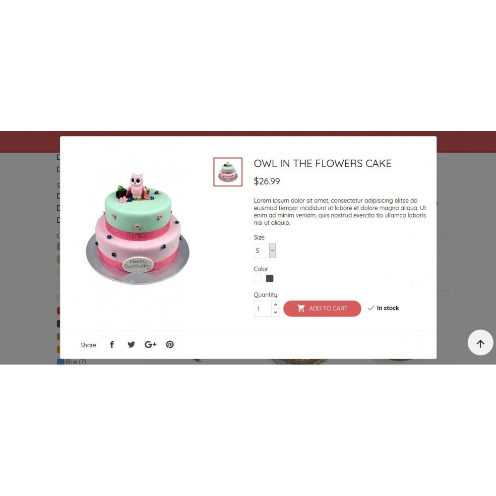 theme - Eten & Restaurant - BeautyCake - 10