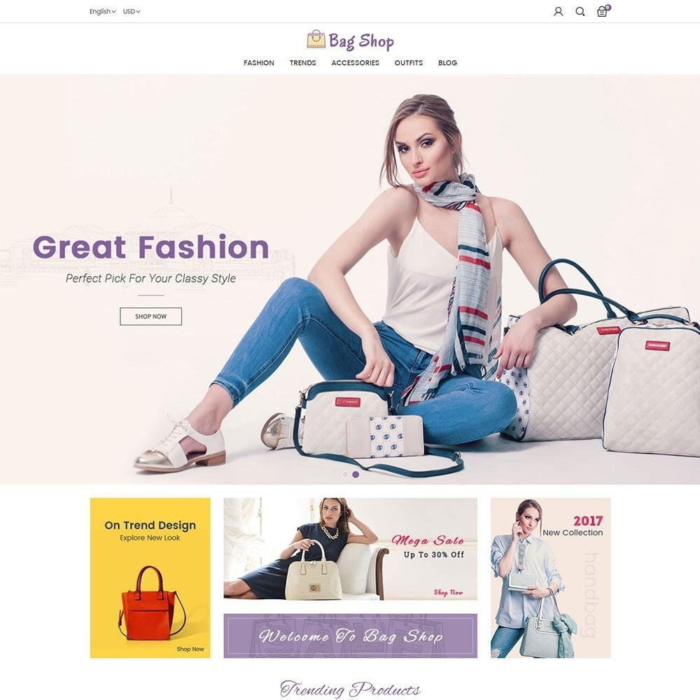 theme - Moda & Obuwie - Bag Shop - 2