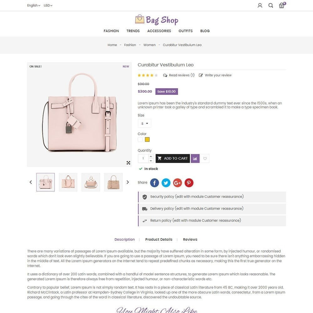 theme - Moda & Obuwie - Bag Shop - 5