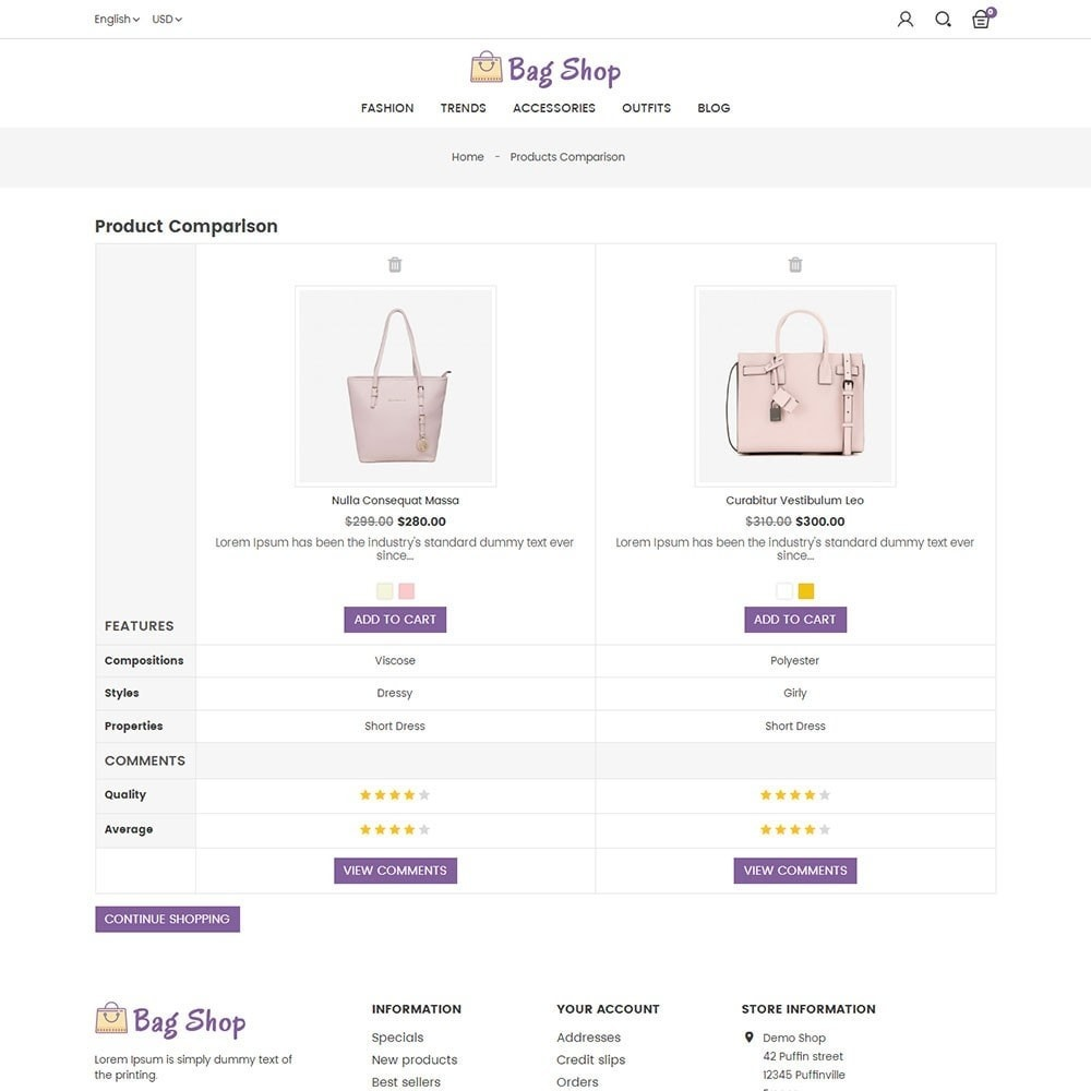 theme - Moda & Obuwie - Bag Shop - 7