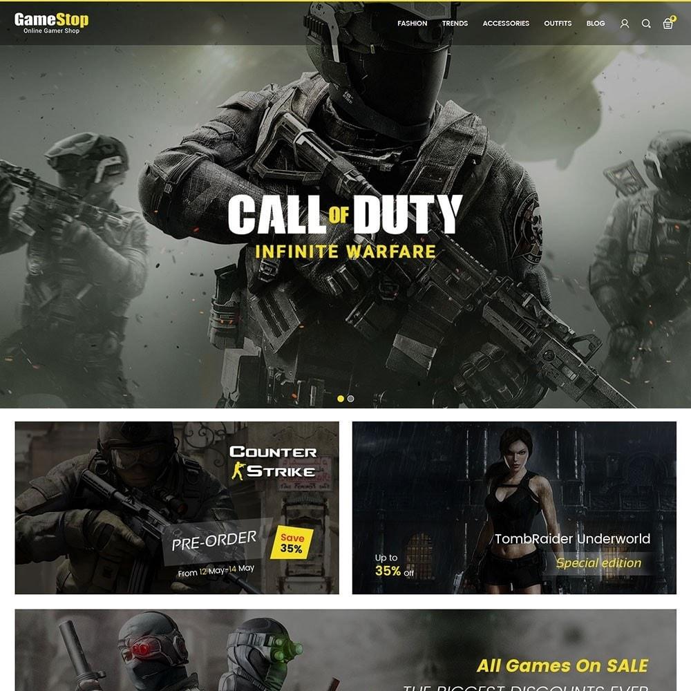 theme - Sport, Rozrywka & Podróże - Game Store - 2