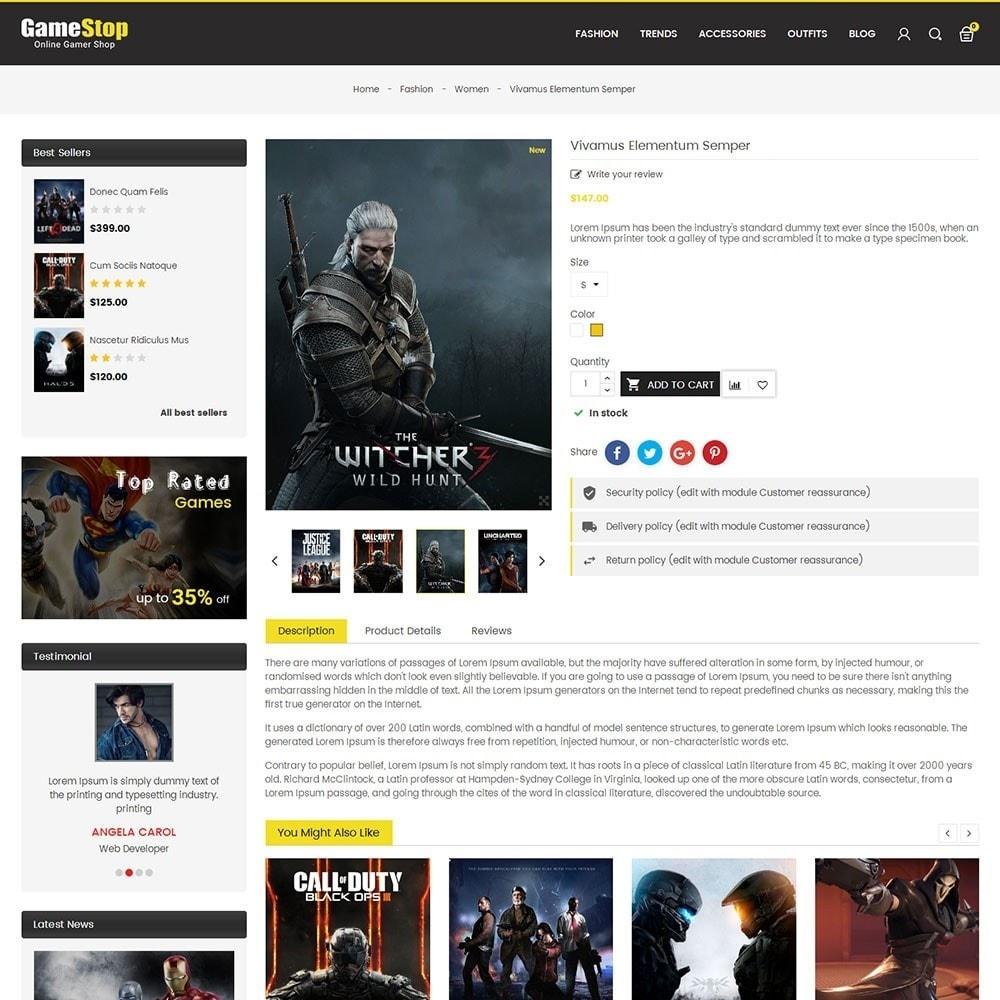 theme - Sport, Aktivitäten & Reise - Game Store - 5