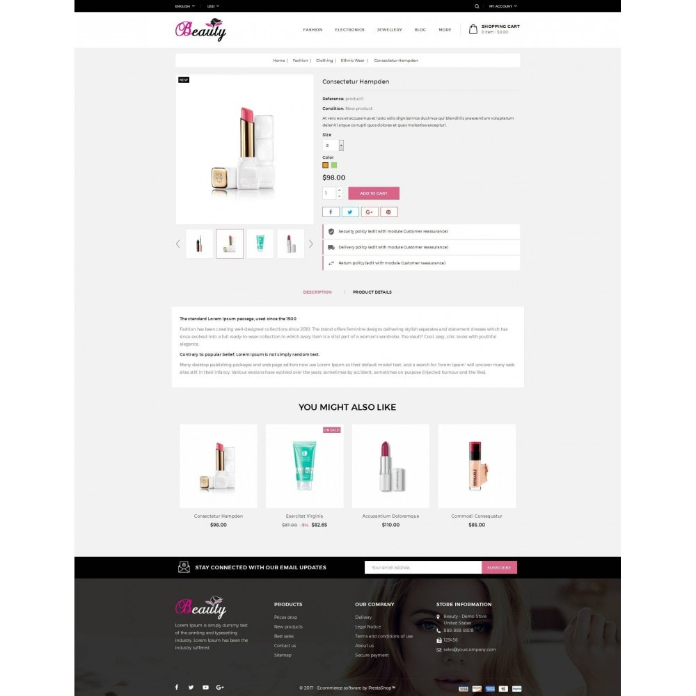 theme - Zdrowie & Uroda - Beauty Store - 5