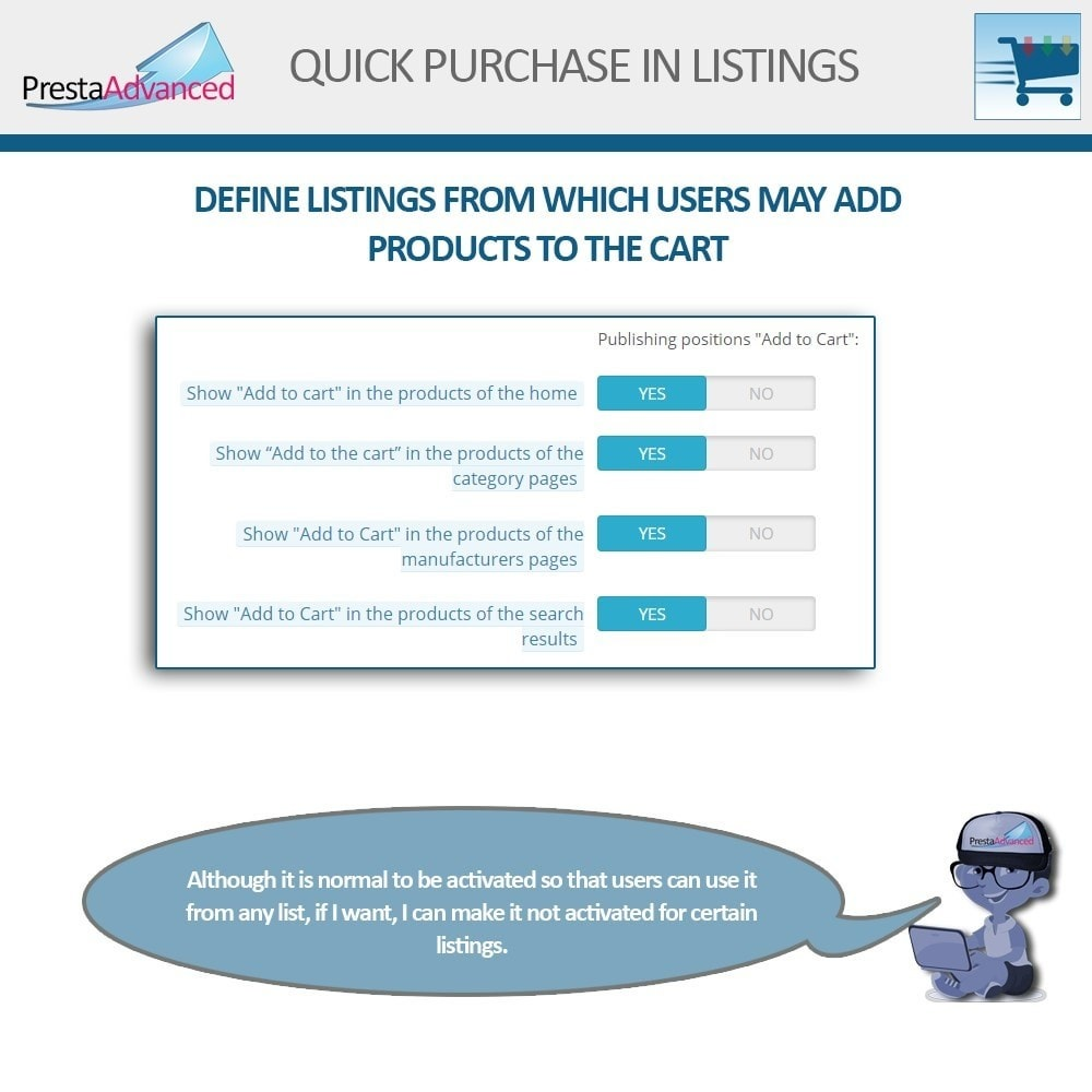 module - Bestelproces - Fast purchase from listings - 4