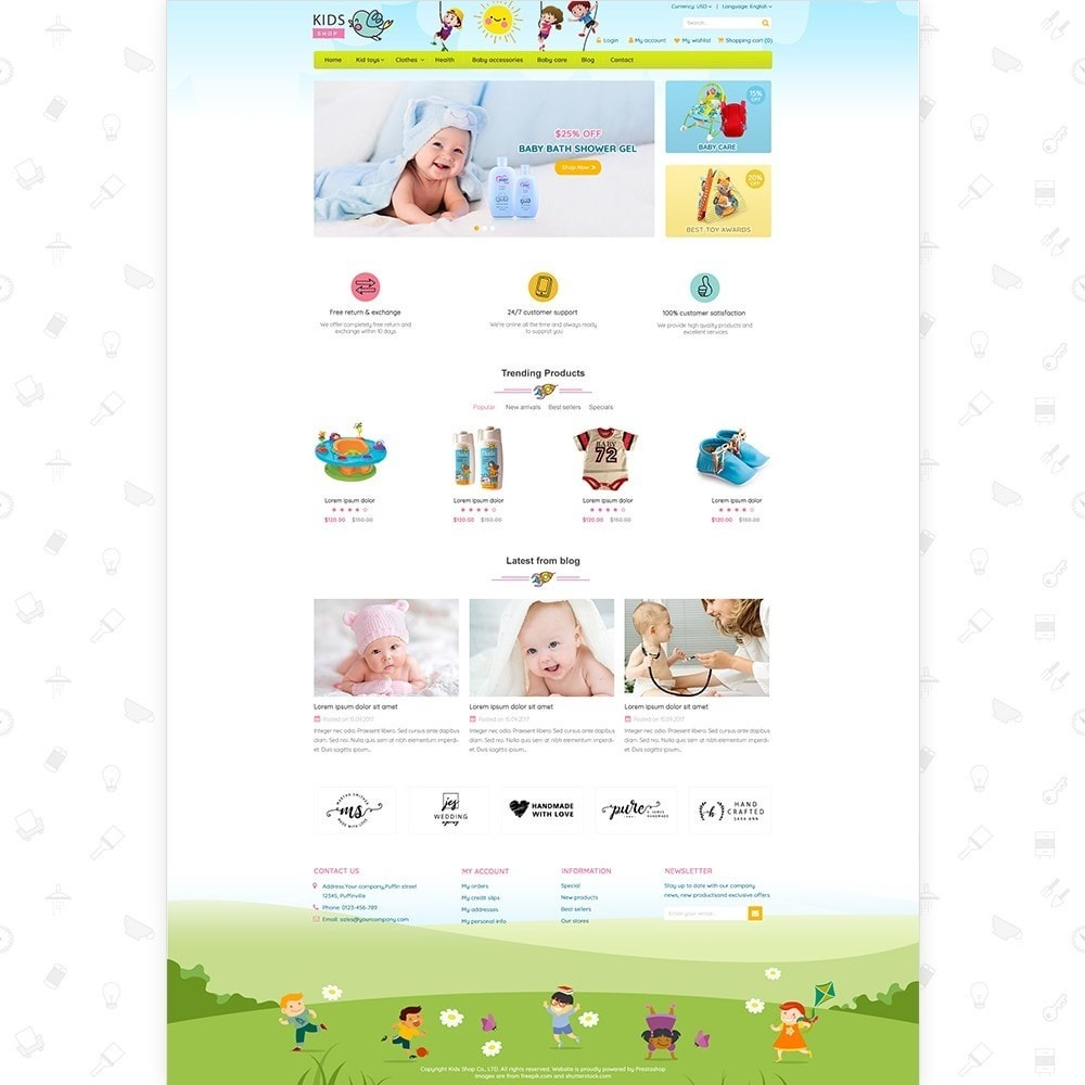theme - Kinderen & Speelgoed - Kids Shop - All in one package - 2