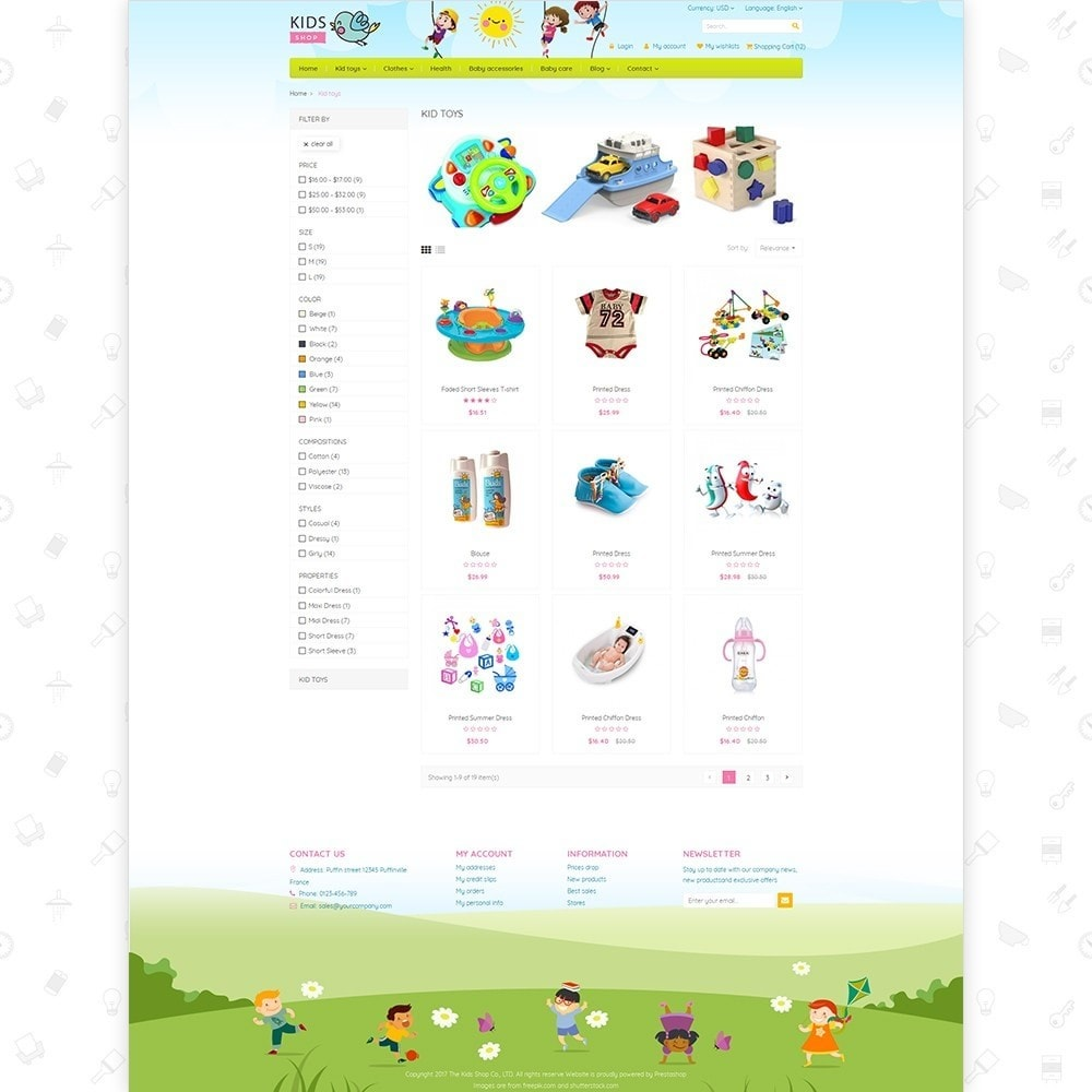 theme - Kinderen & Speelgoed - Kids Shop - All in one package - 3