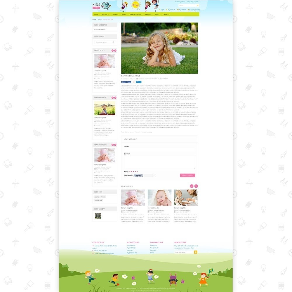 theme - Kinderen & Speelgoed - Kids Shop - All in one package - 6
