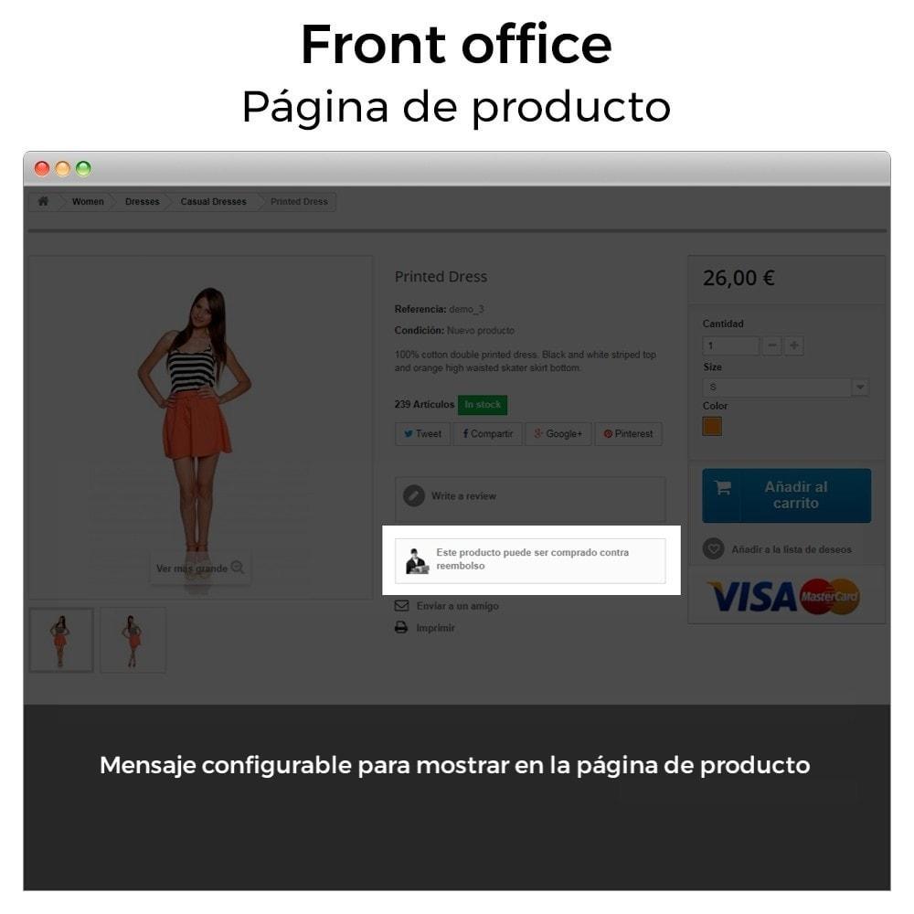 bundle - Módulos PrestaShop - Must-have: Cash on delivery + Cookies (GDPR) Pack - 8
