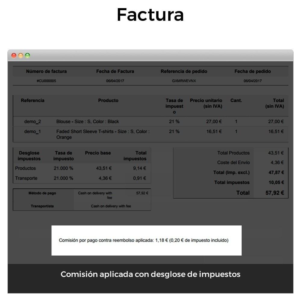 module - Pago a la Entrega (contrarrembolso) - Pago contra reembolso con comisión/recargo Plus - 12