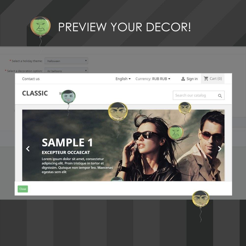 module - Page Customization - Decoration - 3