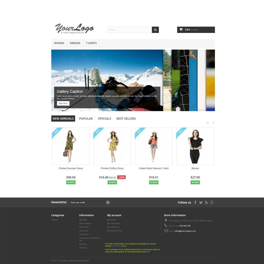module - Sliders & Galeries - Accordion Image Gallery. Slider on Homepage. - 2