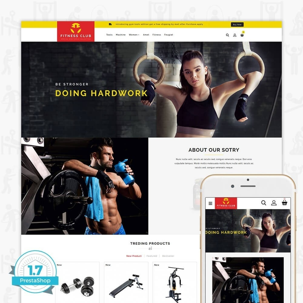 theme - Salute & Bellezza - Fitness Club - The Special GYM Tools Collection - 1