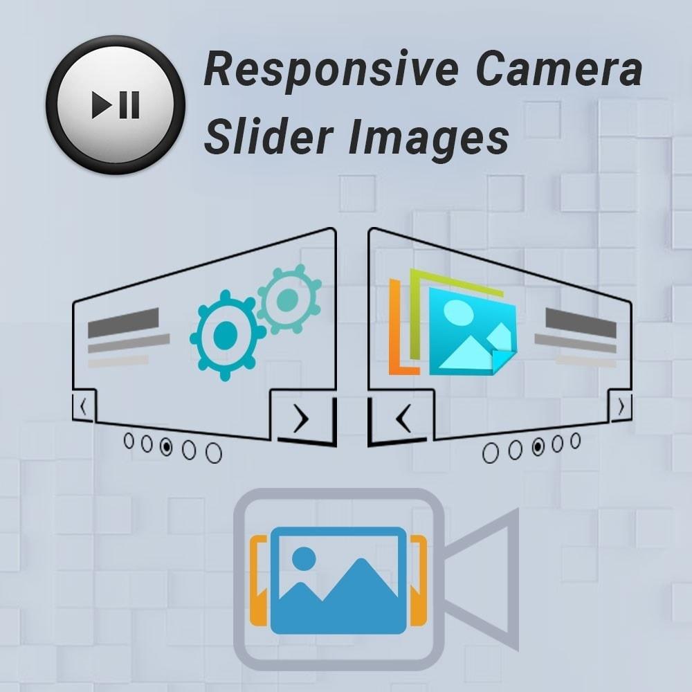 module - Sliders y Galerías de imágenes - Responsive Camera Slider Images - 1