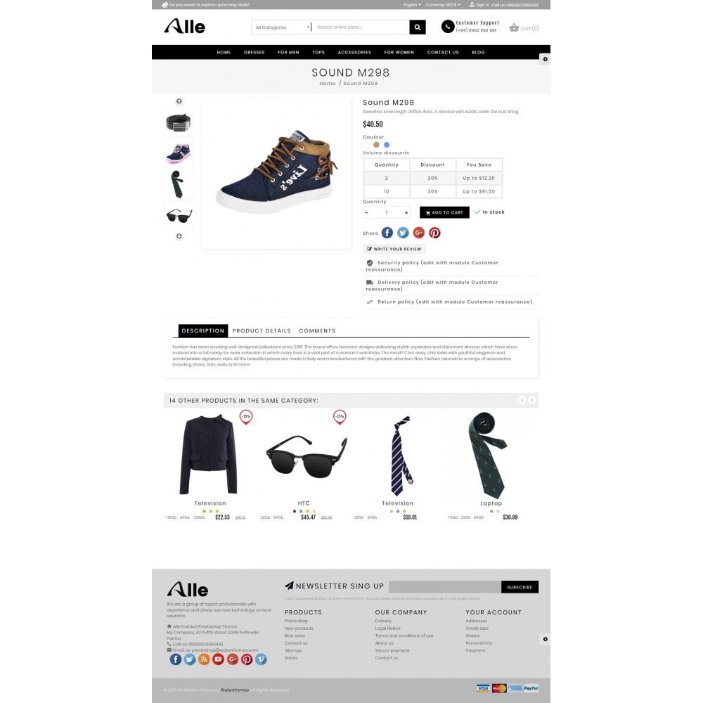 theme - Mode & Chaussures - Alle Fashion Center - 5