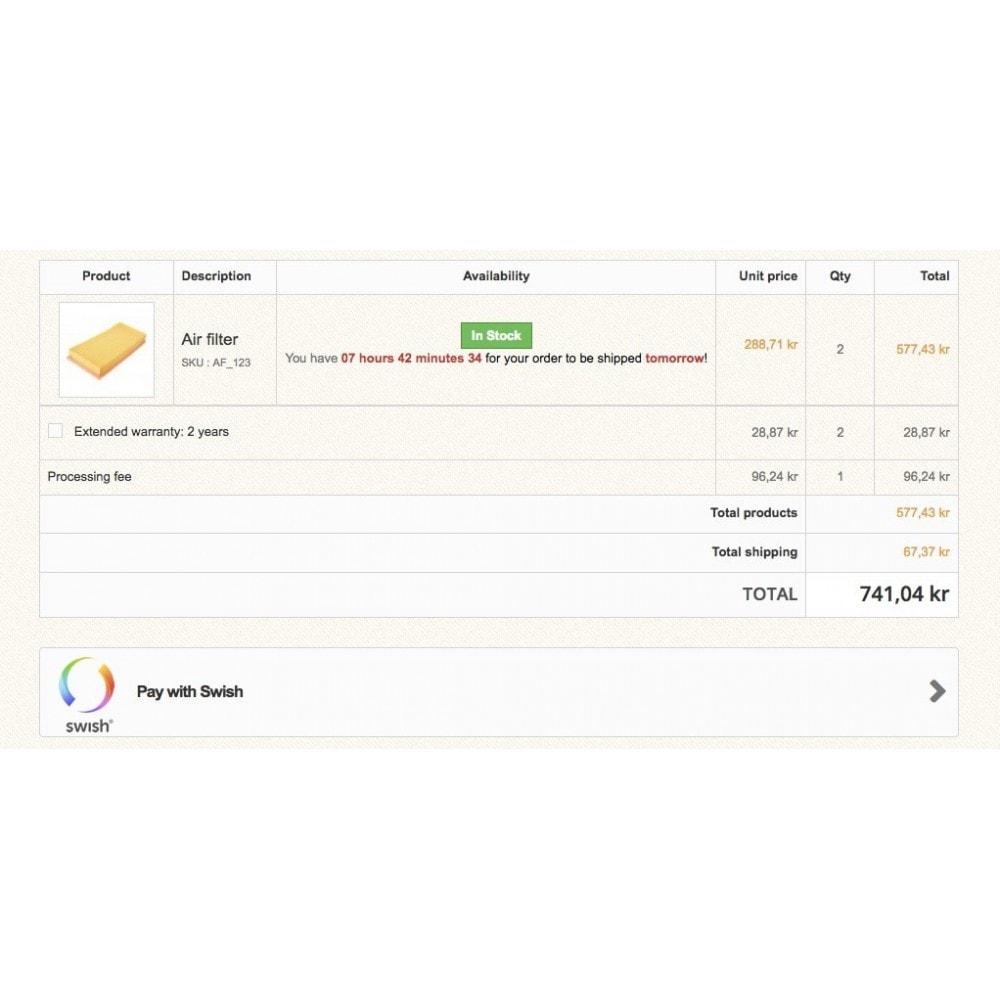 module - Paiement par Carte ou Wallet - Swish QR Code - 3