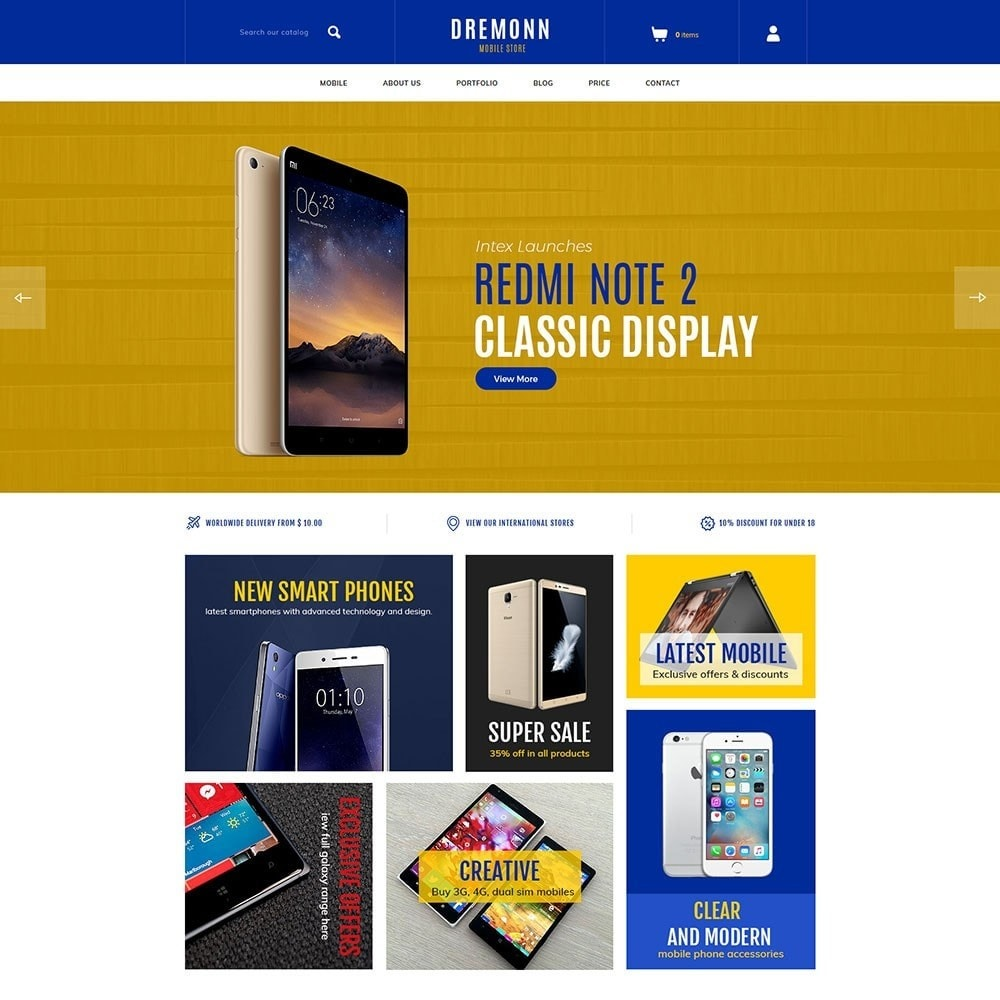 theme - Elettronica & High Tech - Dremonn - Mobile Store - 2