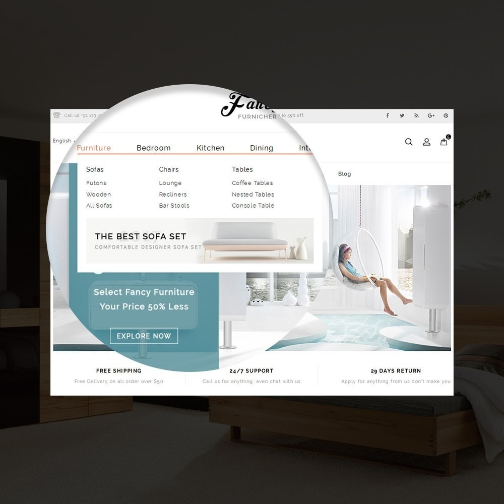 theme - Casa & Giardino - Fancy Furniture Online Store Template - 7