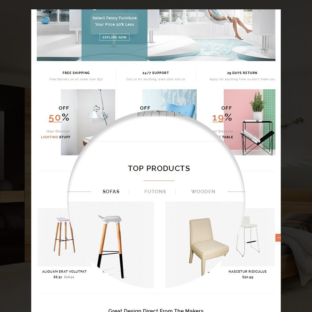 theme - Casa & Giardino - Fancy Furniture Online Store Template - 8