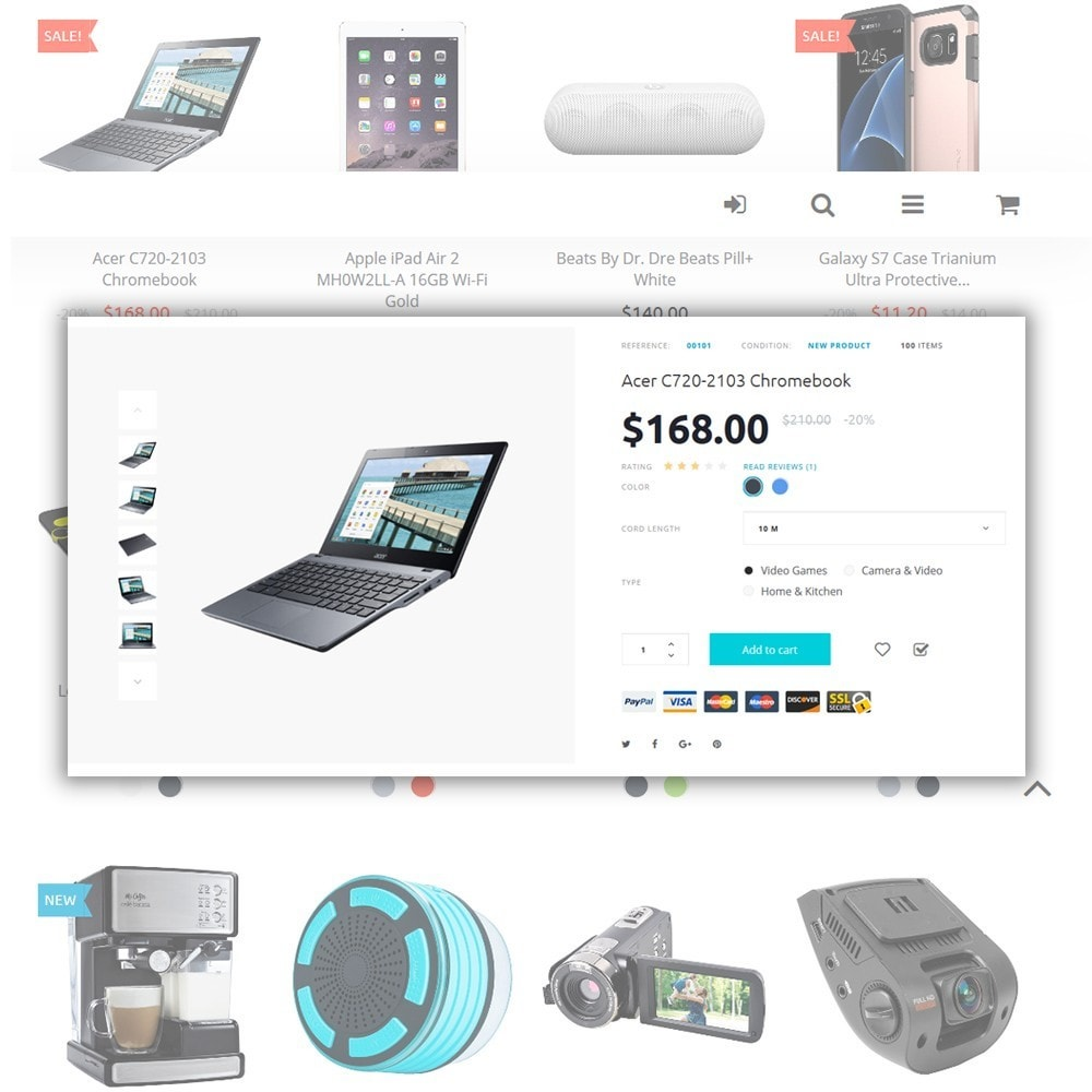theme - Elektronik & High Tech - Eveprest - Electronics PrestaShop Theme - 3